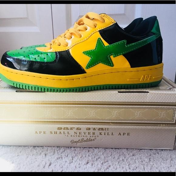 1092d6483d5 Bape Other - Bape sta bathing ape Kanye West Jamaica yellow 10